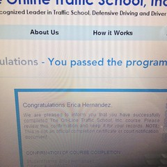 Day 16 - DONE With Online Traffic School