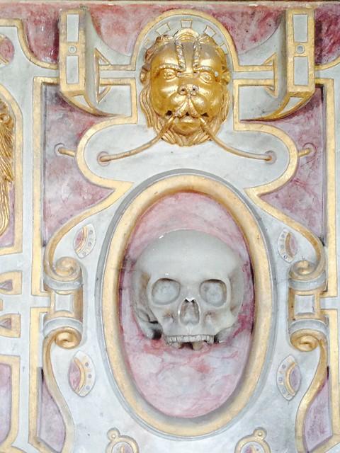 Tomb Frieze St Nicholas' Church