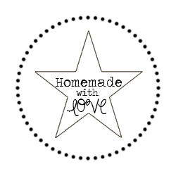 Homemade with love round