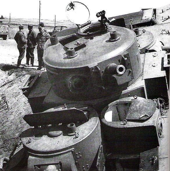 Opgivet T-35 multi-tårn tunge tank