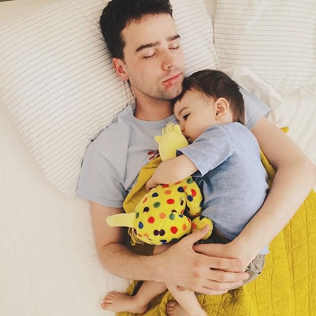 Papa is sick again. #instaluther #fatherhood #children #papa