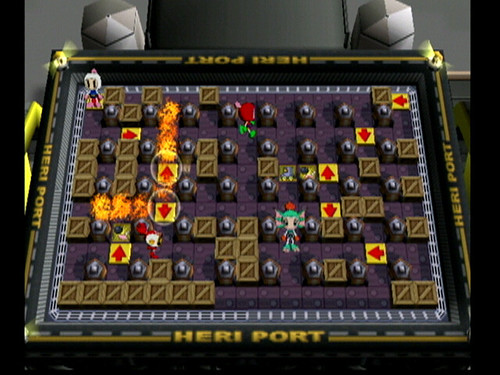Bomberman Online - battle2