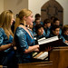 Taplow Youth Choir at The Royal Chapel, Windsor Great Park (September 2011)