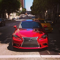 This photo from Lexus USA G+ shows why Lexus is amazing the color of that IS F Sport shines brighter than anything I can think of. #smadelove #smadelife #smademedia