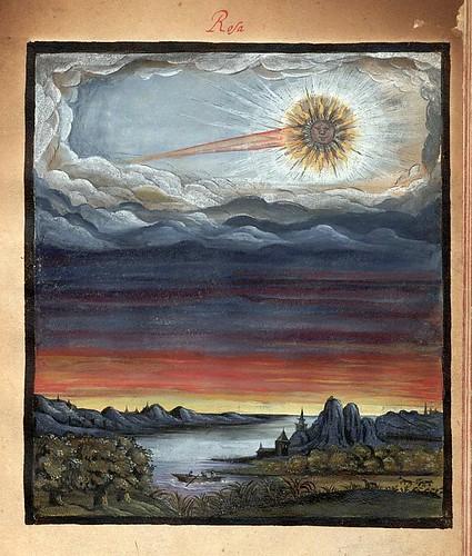 009-Rosa-Kometenbuch -1587-Universitätsbibliothek Kassel