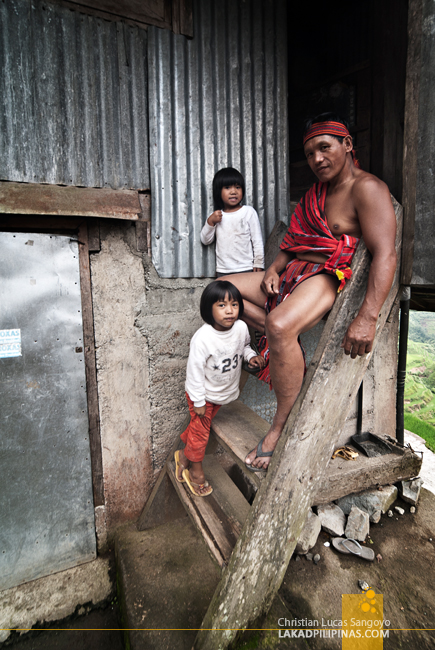 A Local Family in Banaue, Ifugao