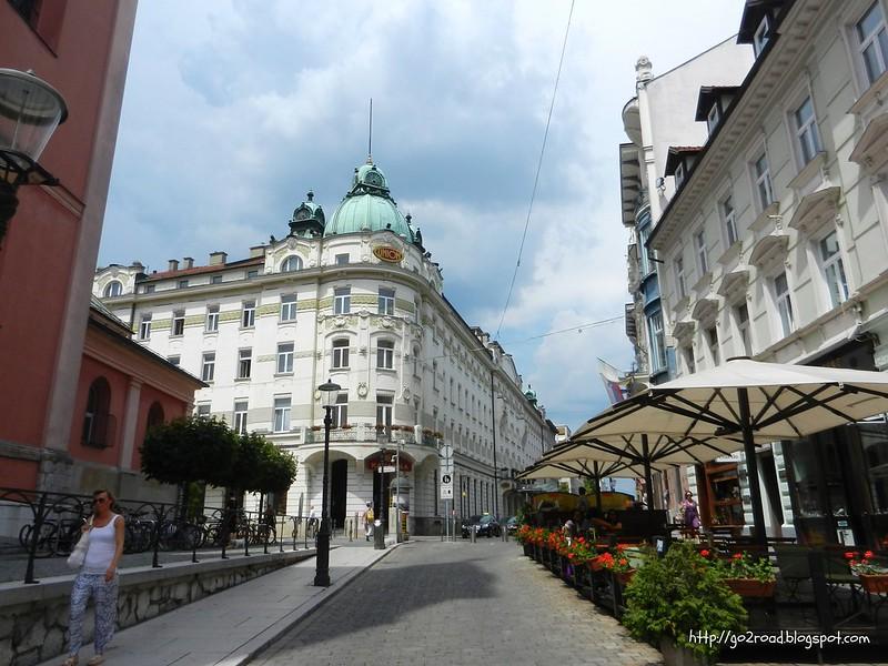 Любляна - красивый город