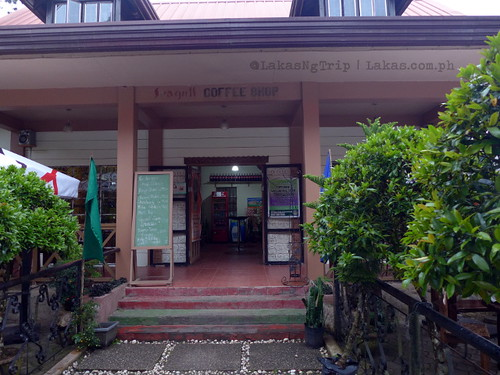 Entrance of Seagull Coffee Shop at Lorega, Kitaotao, Bukidnon