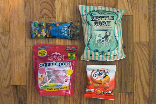 Plane Snacks - Claire
