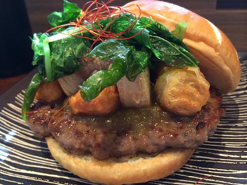 京野菜バーガー