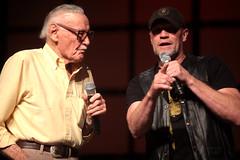 Stan Lee & Michael Rooker