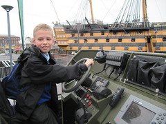 Royal Marines boat