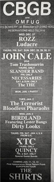 CBGB 12-27-78