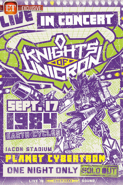 HAPPY 妹頭!SDCC 限定30週年紀念版《變形金剛》化身重金屬搖滾樂團『尤尼克隆騎士』