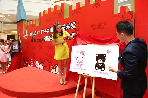 Wu Xin's Love Hello Kitty - Love Moonie design