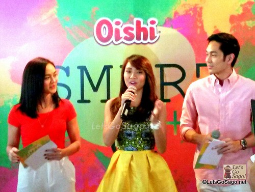 Kathryn Bernardo is the newest endorser of Oishi Smart C+