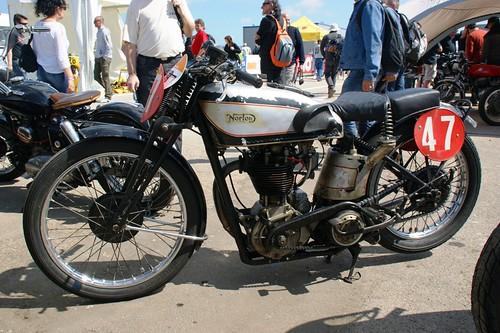 Norton 350 Inter (1933, Philippe Guijarro)