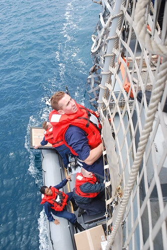 Midshipmen Training aboard USS Shoup
