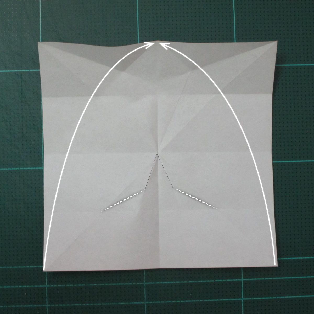 วิธีพับกระดาษเป็นที่คั่นหนังสือรูปผีเสื้อ (Origami Butterfly Bookmark) 010