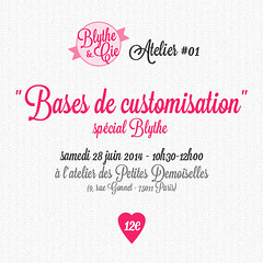 Atelier custo Blythe&Compagnie