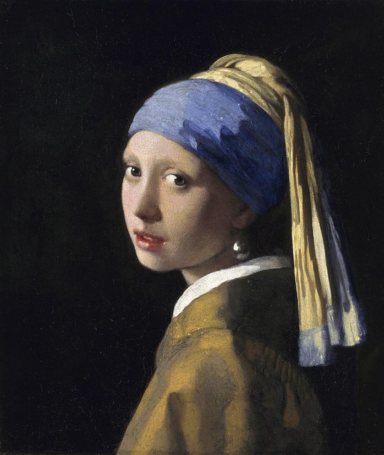 The Girl with a Pearl Earring by Johannes Vermeer, circa 1665
