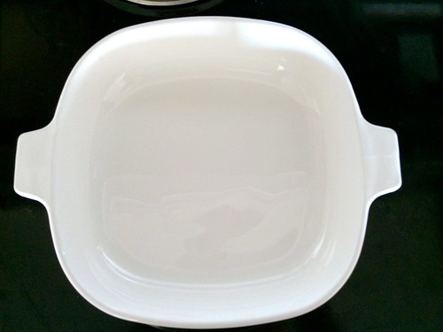 how to clean corningware stains