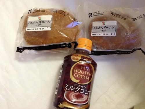パンとココア