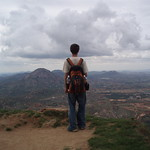 Nandi Hills, India_USAC Student Taking It All In_Michelle Pomerleau