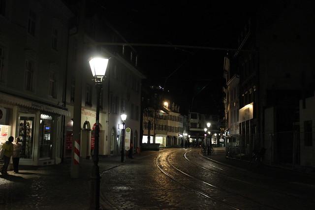 Freiburg bei Nacht I