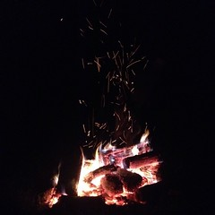 Sitting around the bonfire, gettin' a little shit-faced. #myoldkentuckyhome