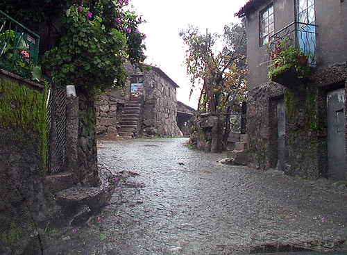 Street in Cabril, Portugal