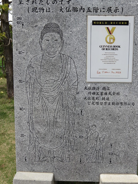 Ushiku Daibutsu - Tallest Statue in the Guinness Book of Records