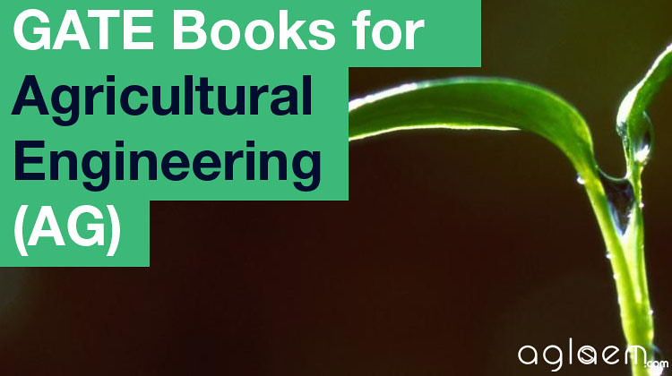 GATE Books for Agricultural Engineering (AG)