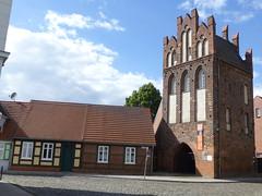 Der steinerne Turm von Wittenberge