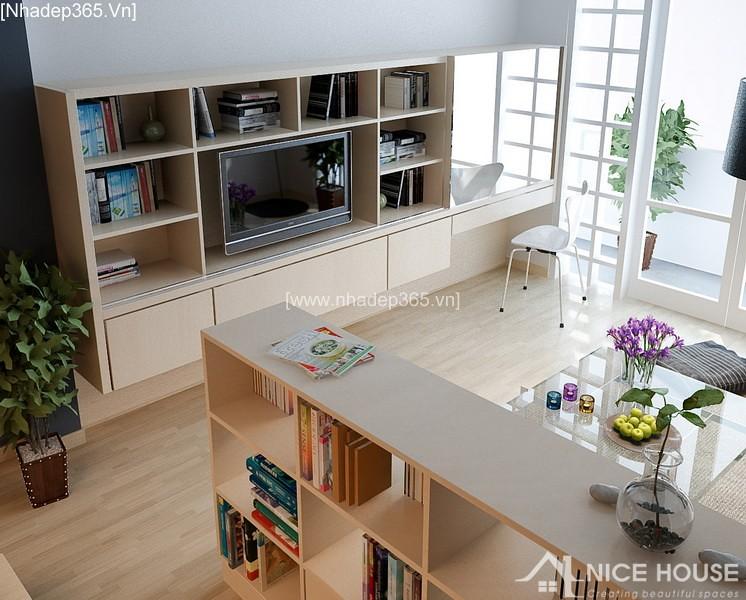Thiết kế nội thất căn hộ A Đức - Hà Đông_3