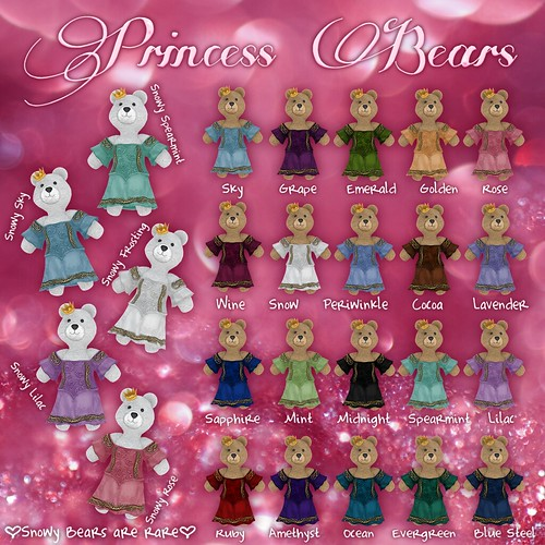 Princess Bears