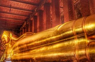 Reclining Buddha , Bangkok