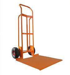 Curved Back Hand Truck with Massive Toeplate