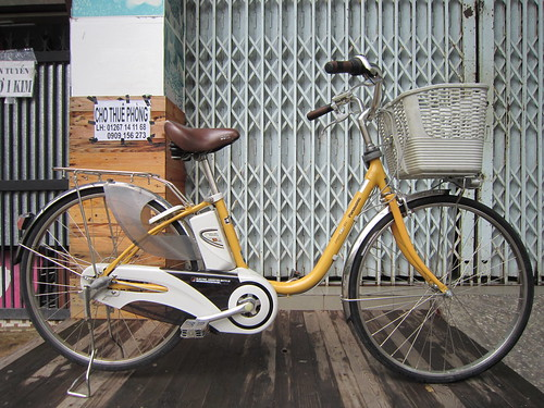 Xe đạp trợ lực Nhật Bản đã có mặt tại Việt Nam