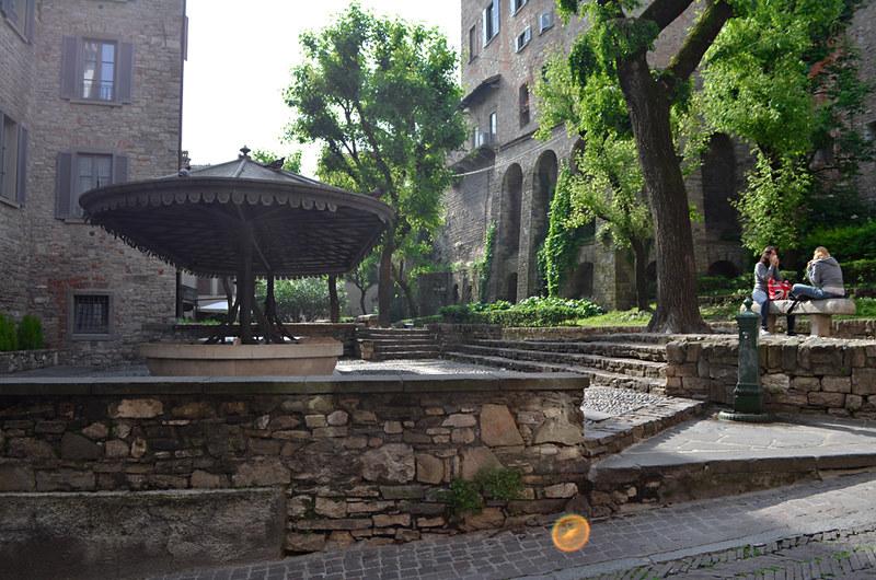 Communal wash-house, Bergamo, Italy