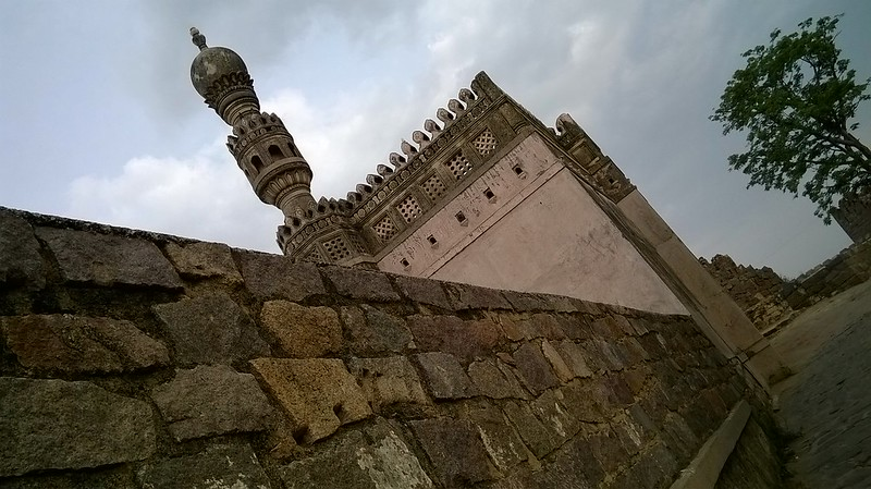 Mosque at Golconda Fort