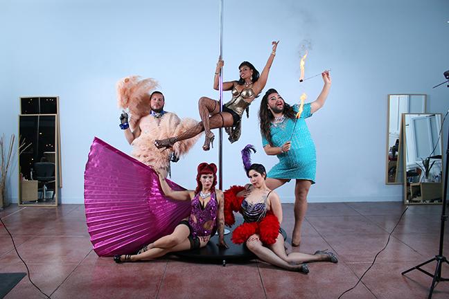 San Antonio Burlesque Festival _ Julian Ledezma