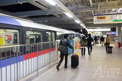 Tokyo Monorial - Haneda Airport International Terminal