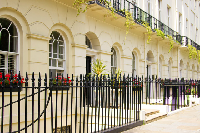 Fitzroy Square London streets