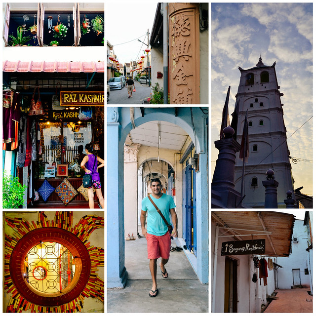 Malacca streets and art