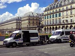 Camions des gendarmes