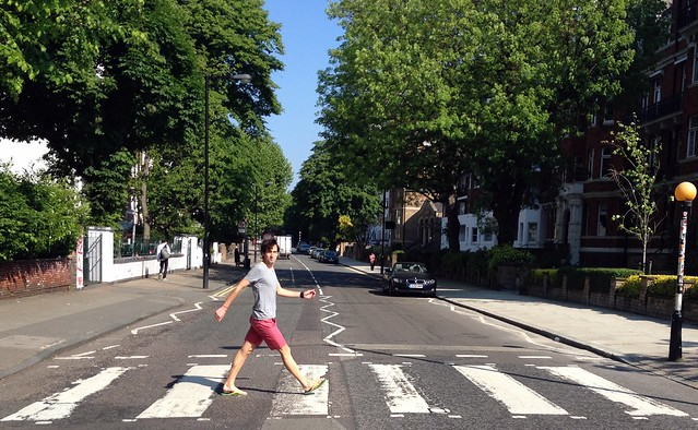 Header of abbey road
