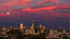 The Many Faces Of a Seattle Sunset #2