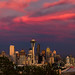 The Many Faces Of a Seattle Sunset #2 by howardignatius