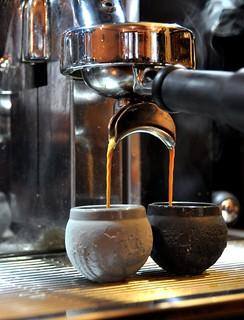 Moon shot espresso cup